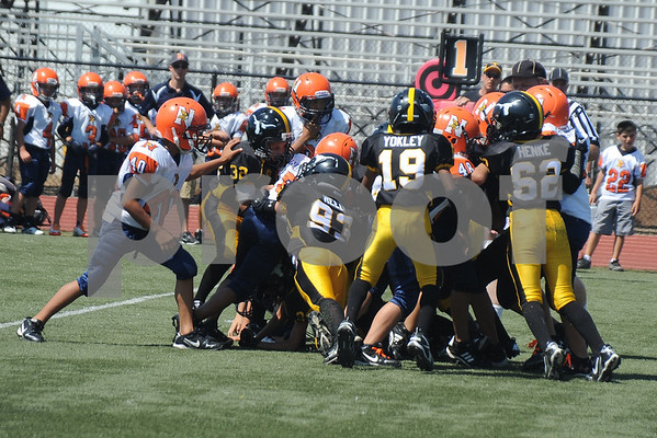 Lakeside Longhorns Jr. Peewee Gold vs Valhalla
