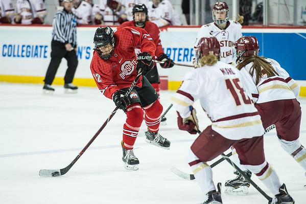 Ohio State University Women's Hockey vs. Boston College in the NCAA Quarterfinals