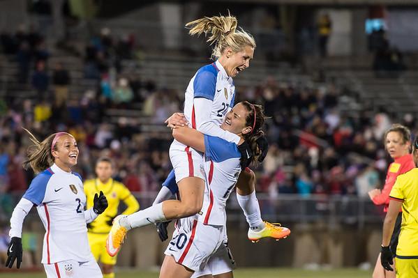 U.S. Women's Soccer Team vs. Columbia