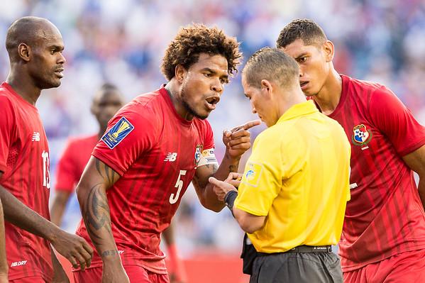 CONCACAF Panama v Hondras