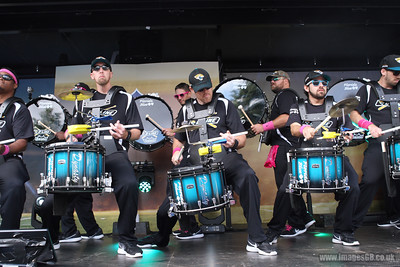FEEL THE BEAT with the official drumline of the Jacksonville Jaguars. The D-Line  performs ahead of the NFL International Series match between Indianapolis Colts and Jacksonville Jaguars at Wembley Stadium on October 2, 2016