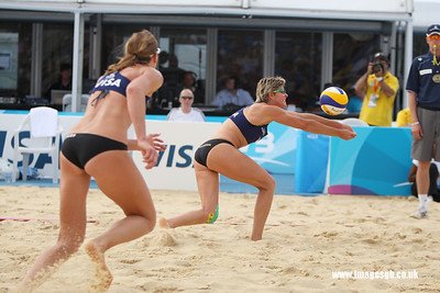 London - 13 Aug 2011 – Nat Cook of the Australia during the game against the Vivian Lima (Bazil)