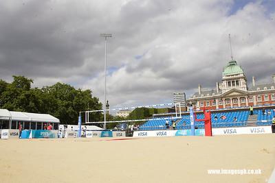 Visa FICB Beach Volleyball General Scenes