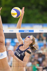 London - 13 Aug 2011 – Tamsin Hinchley of Australia during the game against the Vivian Lima (Bazil)