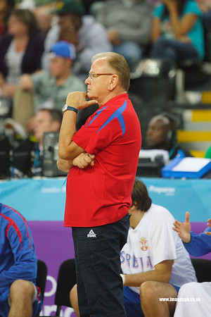Dušan Ivković (Head Coach of Serbia)