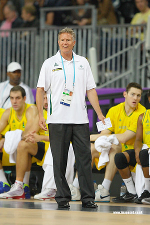 Brett Brown (Head Coach Australia)