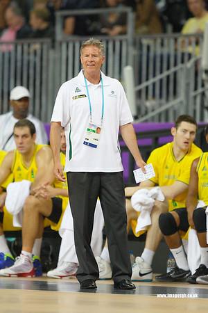 Brett Brown (Head Coach Australia)