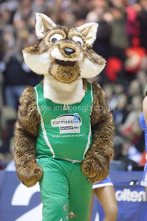 Foxy the Plymouth Raiders Mascott