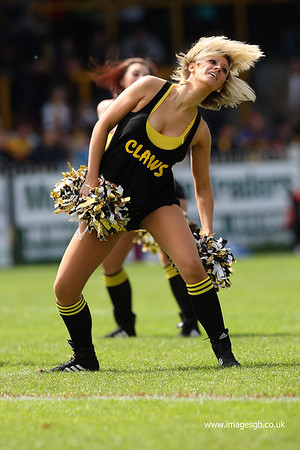 Castleford Tigers Claws Dancers