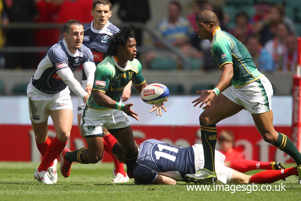 South Africa v Russia (Emirates Airline London Sevens)