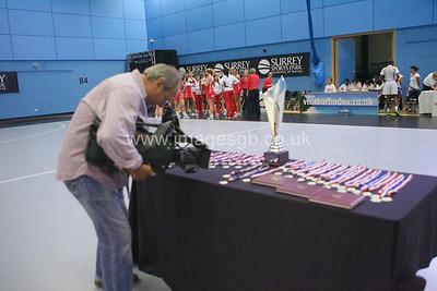 During England v Barbados @ Surrey Sports Park - April 2012