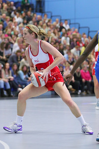Sara Bayman   during England v Barbados @ Surrey Sports Park - April 2012