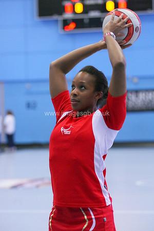 Pamela Cookey   during England v Barbados @ Surrey Sports Park - April 2012