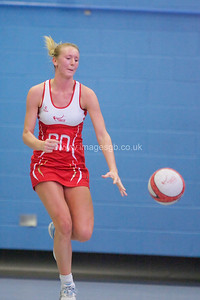 Emma Dovey  during England v Barbados @ Surrey Sports Park - April 2012