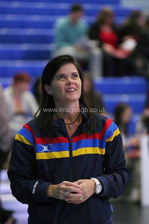Theresa Prince   during England v Barbados @ Surrey Sports Park - April 2012