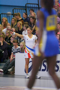Kate Wright   during England v Barbados @ Surrey Sports Park - April 2012