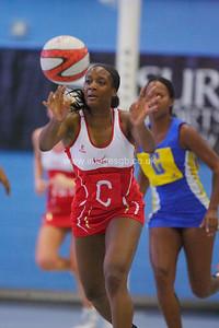 Sasha Corbin   during England v Barbados @ Surrey Sports Park - April 2012