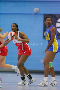 Sasha Corbin   during England v Barbados @ Surrey Sports Park - April 2012