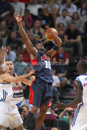 Bryant, Kobe during GB v USA Basketball in Manchester – July 2012