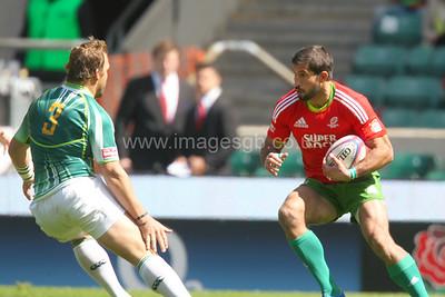 London Sevens 2012 - South Africa v Portugal