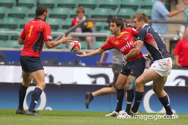 Spain v USA (Emirates Airline London Sevens 2011 Qtr Final Bowl)