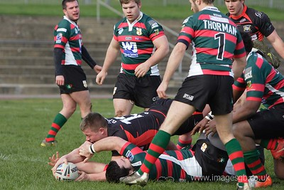20/3/11 - London Skolars v Doncaster at New River Stadium during Cooperative Championship game.
