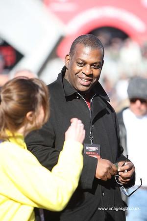 Sky Sports Presenter Kevin Cadle