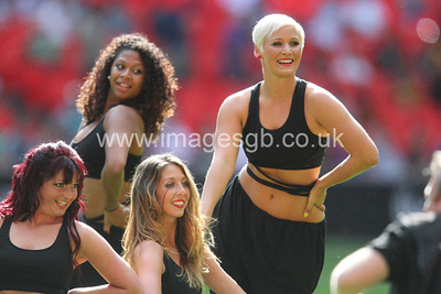 Saracens Sensations Cheerleaders