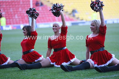 """Saracens Sensations Cheerleaders"""