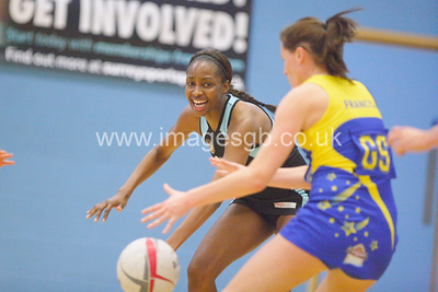 Natalie Seaton during Surrey Storm 61-46 win over Team Bath in Surrey Sports Park on 23 Feb 2013  (imagesGB)
