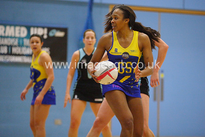 Pamela Cookey during Surrey Storm 61-46 win over Team Bath in Surrey Sports Park on 23 Feb 2013  (imagesGB)