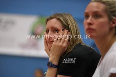 Mel Mansfield during  Surrey Storms 72 v 56 loss against Celtic Dragons at Surrey Sports Park on the 18 April 2013 (ImagesGB)