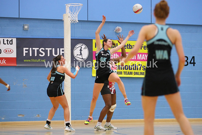 Hannah Reid during  Surrey Storms 72 v 56 loss against Celtic Dragons at Surrey Sports Park on the 18 April 2013 (ImagesGB)