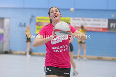 Katy Holland during Surrey Storm 62-44 win over Manchester Thunder at Surrey Sports Park on the 11 March 2013.  (ImagesGB)