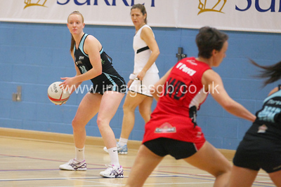 Ash Neal during  Surrey Storms 65-34 win over Team Northumbria at Surrey Sports Park on the 15 March 2013 (ImagesGB)