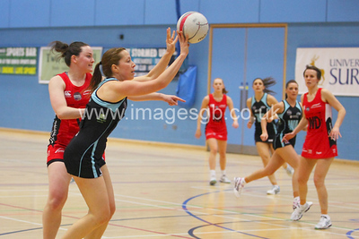 Becky Trippick during  Surrey Storms 65-34 win over Team Northumbria at Surrey Sports Park on the  15 March 2013 (ImagesGB)