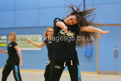 Surrey Storm Troopers during  Surrey Storms 65-34 win over Team Northumbria at Surrey Sports Park on the  15 March 2013 (ImagesGB)