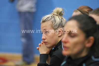 Georgia Lees during Surrey Storms 43 v 63 loss against Team Bath at Surrey Sports Park on the 13 May 2013 (ImagesGB)