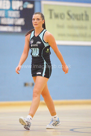 Sophie Morgan during Surrey Storm 57 – 48 win over the Hertfordshire Mavericks at Surrey Sports park on the 9th Feb 2013