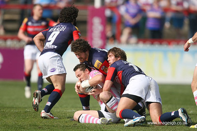 Luke Dorn during Wakefield Wildcats v Harlequins RL (10 April 2011)