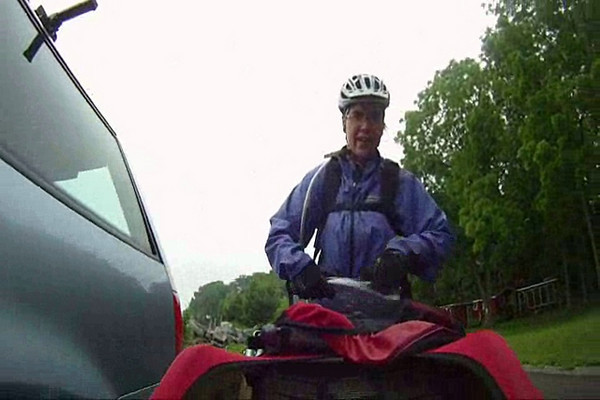 (Video) 2010-June: Cycling around Lake Erie