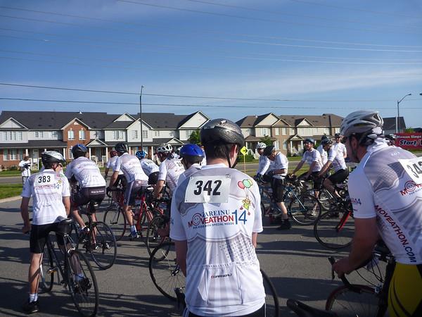 2011-June: Zareinu fundraiser 100km bike ride