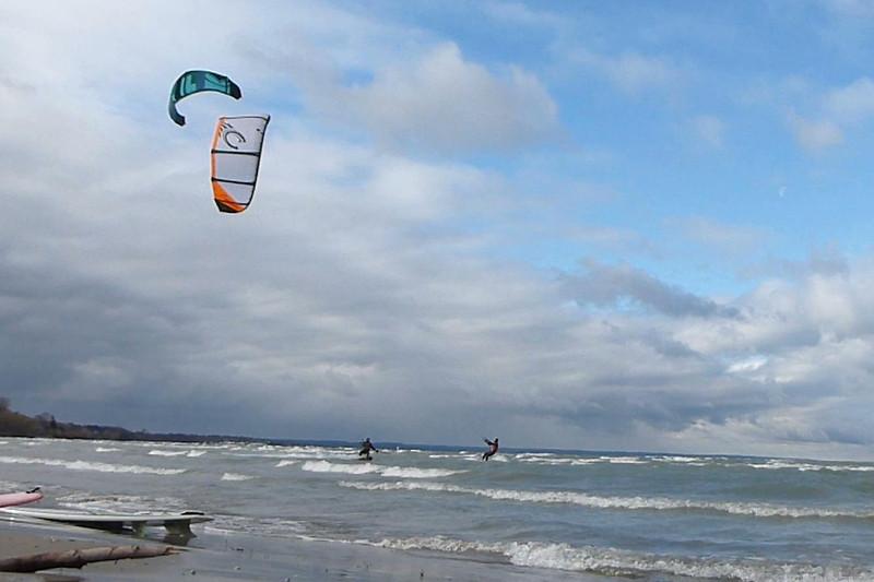 2012-Dec: Kiteboarding sessions