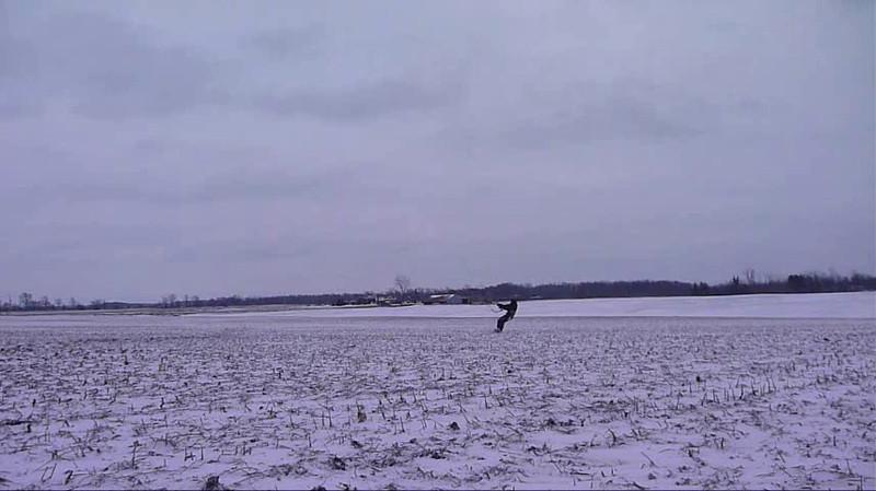 (Video) 2012-Jan: Snowkiting