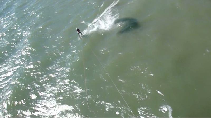 2012-Aug (Video): Kiteboarding on Lake Erie
