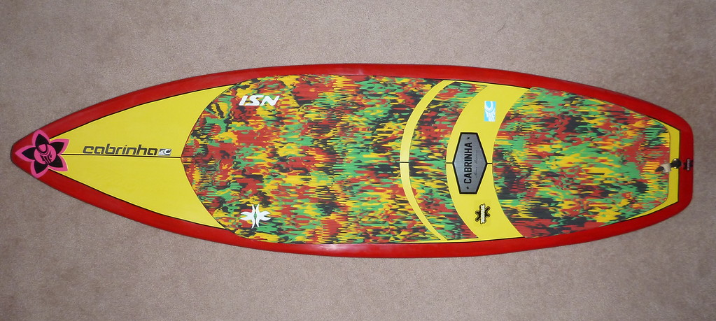 "2014-New 5'4"" McD Happy Meal Surfboard"