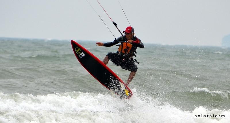 2014-July: Kiteboarding shots