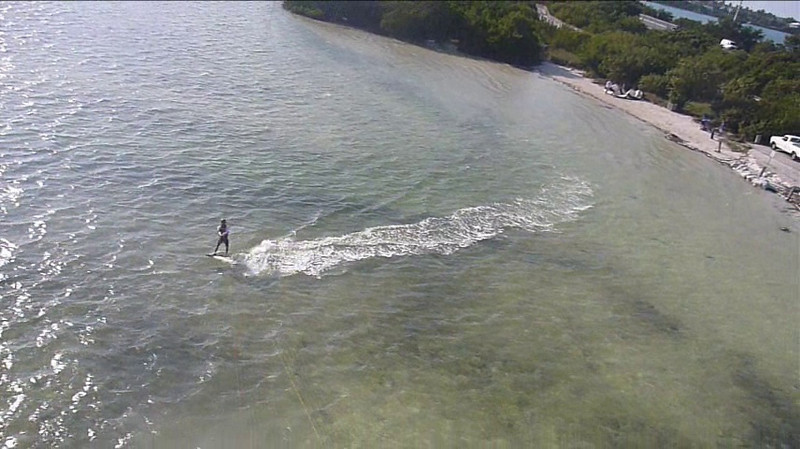 (Video) 2011-Apr: Kiting in Florida Keys