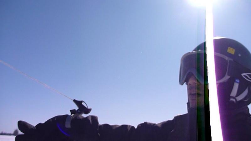 (Video) 2011-Mar: Snowkiting late season
