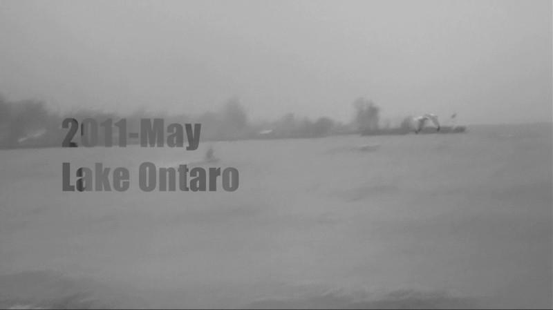 (Video) 2011-May: Kiting on Lake Ontario